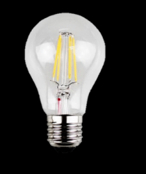 ΛΑΜΠΤΗΡΕΣ LED FILAMENT DIMMABLE  4W   E27 - Α60