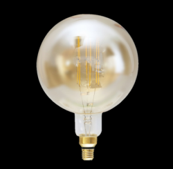 ΛΑΜΠΤΗΡΕΣ LED FILAMENT DIMMABLE AMBER GIANT   8W   E27 - G200