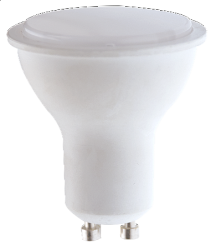 LED SPOT GU10 6W PC+AL DIMMABLE